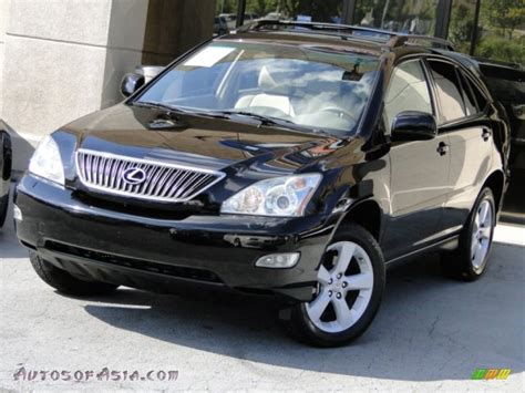 black lexus 2007 2007 lexus rx 350 awd in black onyx 013130 autos of