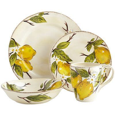 avalon dinnerware reminds   sorrento home sweet home