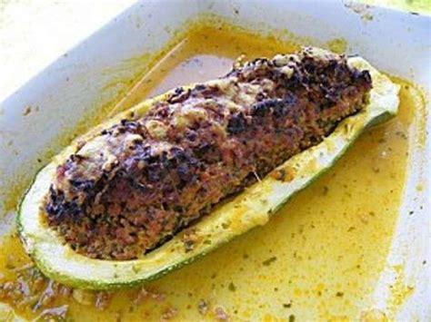 les meilleures recettes de courgettes farcies et viande