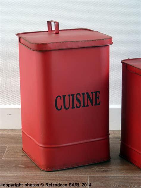 cuisine style atelier industriel poubelle métal cuisine gm déco brocante seb13832 1