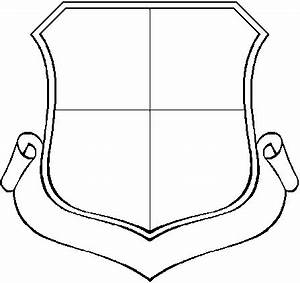shield drawing template clipart best With school shield template