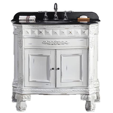 36 bathroom vanity with granite top ove decors 15vva buck36 k15af york 36 inch single sink