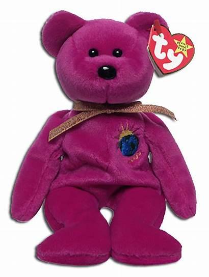 Ty Beanie Babies Teddy Worth Millenium Bear