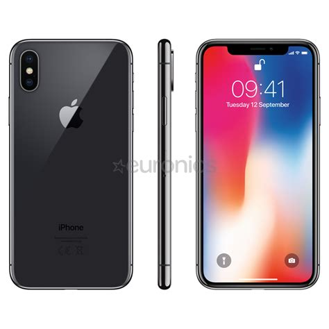 smartphone apple iphone x 64 gb mqac2et a
