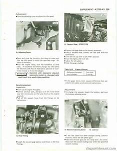1979  U2013 1984 Kawasaki Kz750 Twin Cylinder Motorcycle Repair