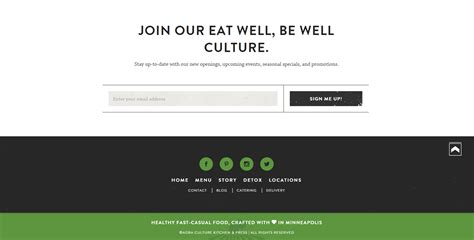 Cultural Spaces Website Template by Importance Of Footer In Web Page Elegant Footer Ideas