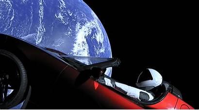 Tesla Musk Elon Space Roadster Spacex Falcon