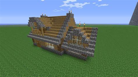 comment faire un chalet dans minecraft simple manor minecraft project