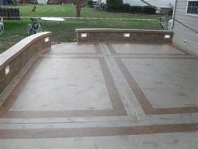 Cement Patio Designs cement patio designs unique concrete design llp
