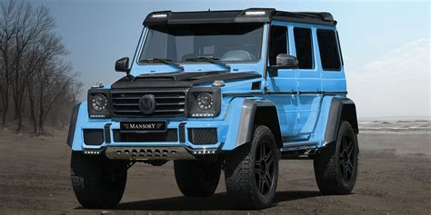 mercedes g wagon mansory announces new mercedes g wagon 2018
