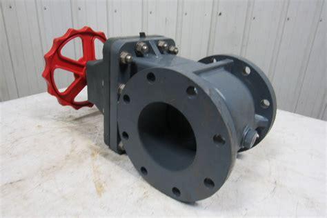 asahi  flanged pvc manual sluice gate valve