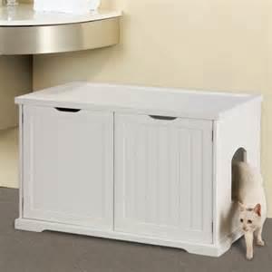 cat litter box enclosure cat washroom bench litter box enclosure from merry