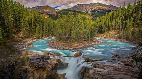 Sunwapta Falls - Bing Wallpaper Download