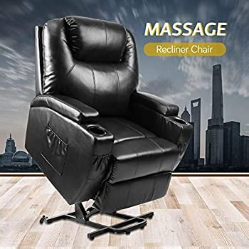 Amazon.com: Vosson Power Lift Chair Faux Leather Electric