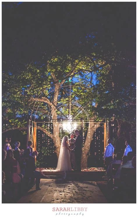 Enchanted Forest Night Outdoor Wedding At Southwind Hills