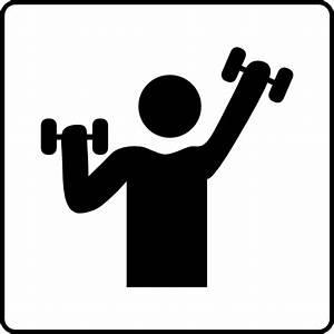 Hotel Icon Has Gym Clip Art at Clker.com - vector clip art ...