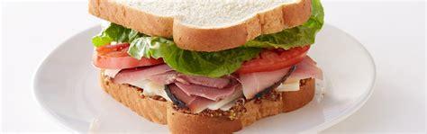 ham sandwich classic ham sandwich sara lee 174 bread recipes