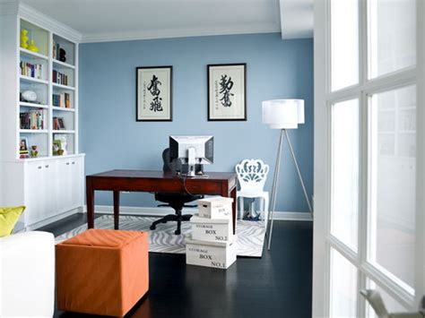 office paint colors blue how to choose the best home office color schemes home decor help