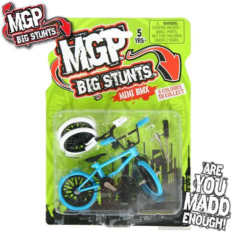 madd gear pro mgp freestyle finger bmx big stunts assorted