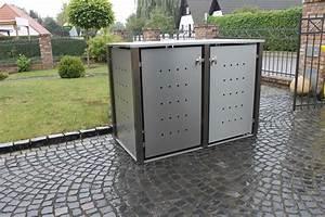 Müllbox Selber Bauen : m lltonnenbox aus stahl kollektion ideen garten design ~ Lizthompson.info Haus und Dekorationen