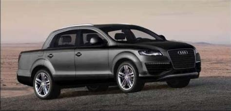 Audi Truck by 2019 Audi Truck Combines Elements From Q7 Suv And Vw