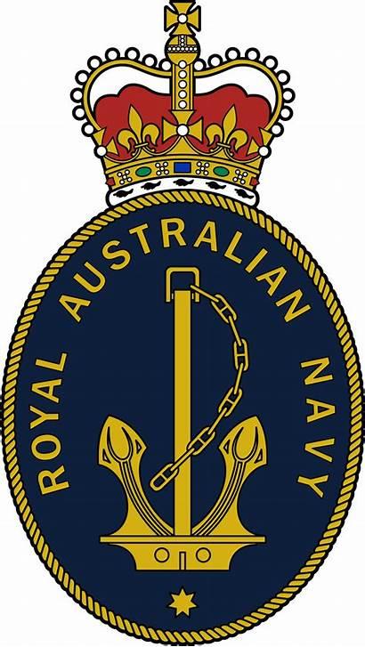 Navy Badge Australian Royal Ran Emblems Founded