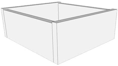 Decore Ative Specialties Door Profiles by Top Edge Profiles Custom Drawer Box Options Decore