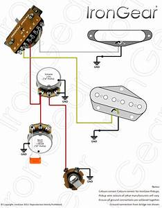 Fender Vintage Noiseless Telecaster Neck Pickup 3 Wires With White Neck Wire Wiring Diagram