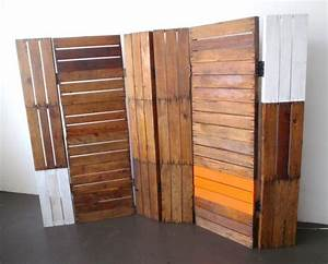 Mbel Aus Holzpaletten Raumteiler Idee Bretter Deko Deko