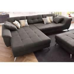 tres grand canape d angle canapé d 39 angle avec méridienne modulable un style très