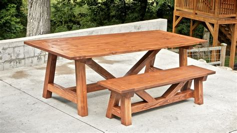 farmhouse table and bench plans how to build a farmhouse table and benches for 250