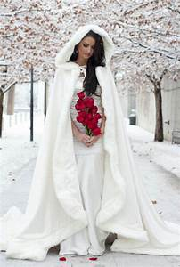 long bridal coats winter wedding dress hooded cloak cape With dress and coat for winter wedding
