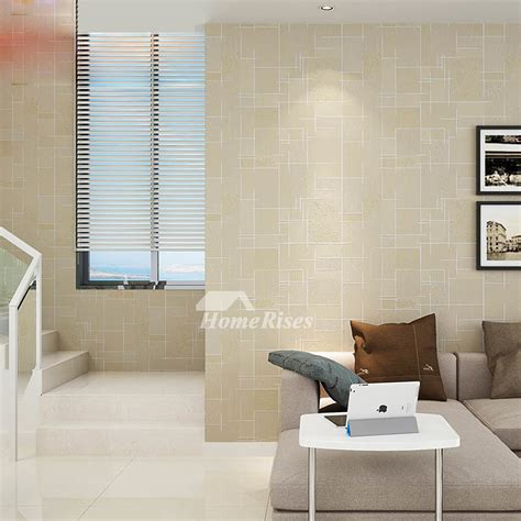 textured wallpaper khakiyellowwhitegray  art mural