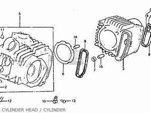 honda atc110 1984 usa cylinder head cover car interior With ct70 wiring diagram honda ct70 vintage honda elsinore cr125 cr250 mr50