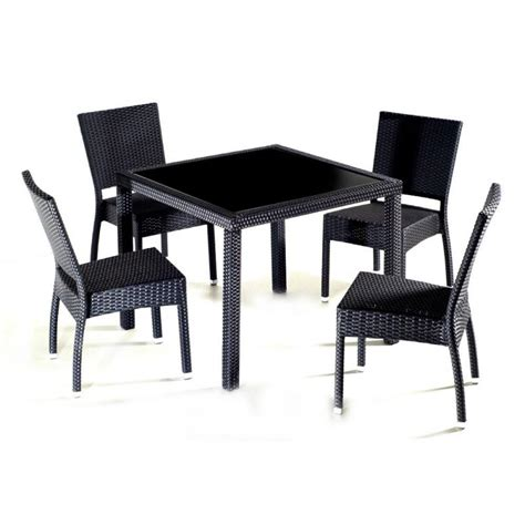 chaise de jardin en resine salon en résine tressée au meilleur prix