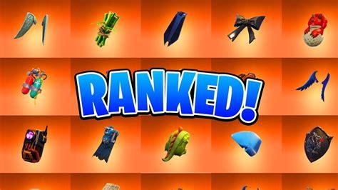 ranking   legendary  blings  fortnite ranking