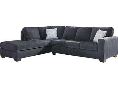 Ashley Living Room Altari 2-Piece Sleeper Sectional with ...