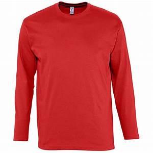 Tee Shirt Homme Manches Longues : tee shirt homme manches longues monarch publicitaire ~ Melissatoandfro.com Idées de Décoration