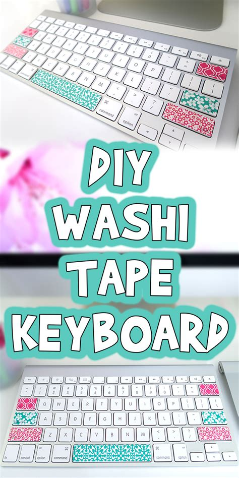 diy washi tape keyboard woo jr kids activities