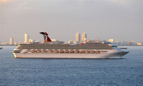 The liberty carnival cruise ship