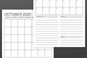 11x17 6 Month Printable Calendar