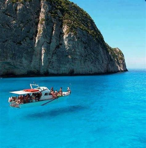 Zakynthos Island Ionian Sea Greece Looks Like The Boat