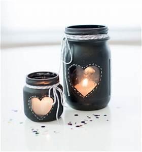 Ouvrir Un Pot De Peinture : 21 id es de d co de mariage avec des pots en verre de r cup 39 mon mariage pas cher ~ Medecine-chirurgie-esthetiques.com Avis de Voitures