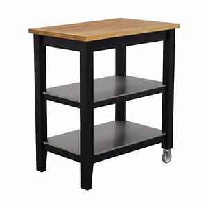 Ikea Stenstorp Wandregal : 57 off ikea ikea stenstorp wood and black kitchen island cart tables ~ Orissabook.com Haus und Dekorationen