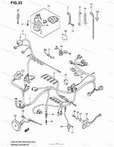 Suzuki Motorcycle 2000 Oem Parts Diagram For Wiring Harness  Model Y  K1