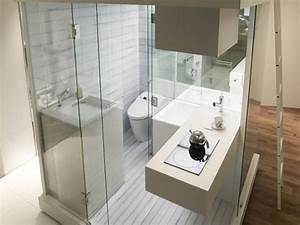 Bathroom shower panel luxury small bathroom gallery for Compact bathroom designs