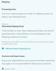 etsy39s new shop home page seo implications cindylouwho2 With etsy shop policies template