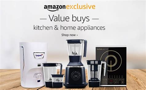 Amazon Coupons For Kitchen Appliances & Home Sale India