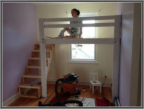 hanging loft bed plans loft beds pinterest loft beds