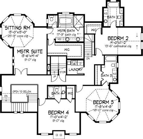 Viktorianisches Haus Grundriss by Back Stairs Second Floor Plan Of
